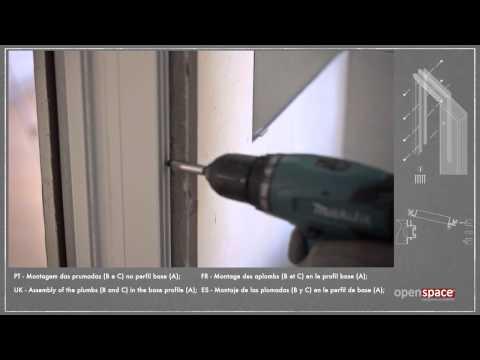 OPENSPACE | DESIGN frame for glass sliding door