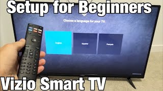 Vizio Smart TV: How to Setup for Beginners (step by step)