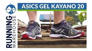 Asics Gel Kayano 20 Shoe Review