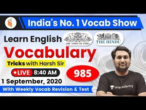 8:40 AM - English Vocabulary | Learn English Vocabulary Tricks | Day #985