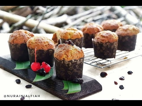 Cara Membuat Banana Muffin / Banana Cake Anti Gagal