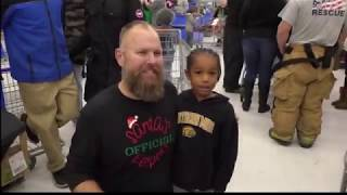 Kindness in Action: Children shop with law enforcement to make it Merry Christmas for all