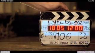 "Evil Dead Behind-the-Scenes ""A Grueling Shoot"""
