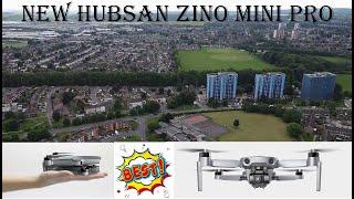 2021 New Hubsan Zino Mini Pro Superb Smooth Flight, 4k UHD Camera , Long Range Test, Battery Review.