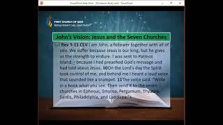 Revelation Bible Study - Week Three