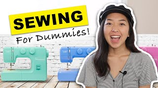 A Beginner's Guide To SEWING! How to use a sewing machine