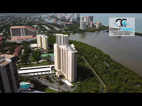Pelican Bay St. Nicole Naples Florida 360 degree fly over