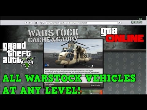 How To Get Any Warstock Vehicle AT ANY LEVEL!! - AMAZING GLITCH!! - ( GTA 5 ONLINE )