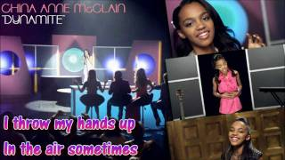 "[HD] China Anne McClain - ""DYNAMITE"" - Karaoke/Instrumental w/ Vocals"