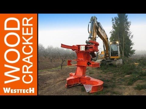 Die größte Baumschere von WESTTECH - Woodcracker C550
