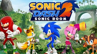 Sonic Dash 2 HD 60fps SONIC BOOM Online Gaming - Guest Player Shadow