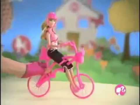 ▶ Barbie - Ride With Me Bike - Mattel
