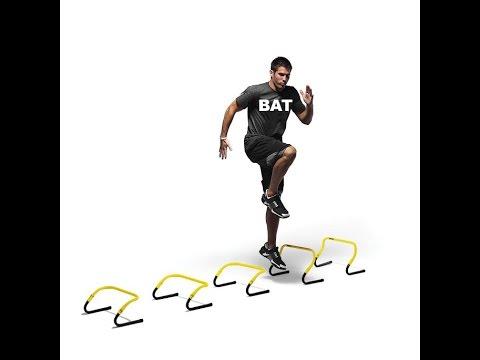Mini-Hürden: Die besten Drills für Agilität, Frequenzschnelligkeit und Koordination!
