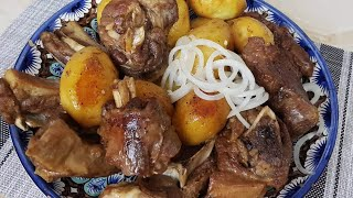 Вкуснейший Казан Кебаб 💯из баранины! Как сделать так чтобы картошка не развалилась!