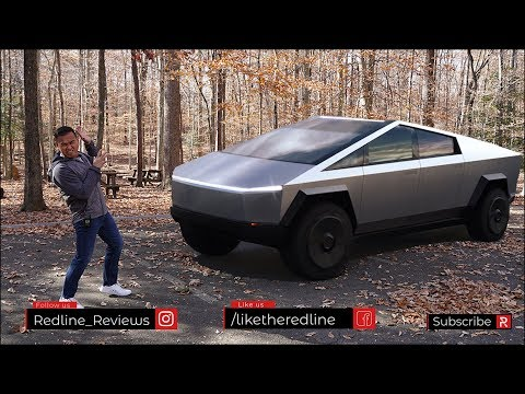 External Review Video oDc3fntmsMI for Tesla Cybertruck Electric Pickup