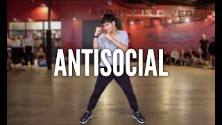 ED SHEERAN & TRAVIS SCOTT   Antisocial | Kyle Hanagami Choreography
