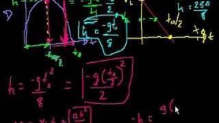 Projectile motion (part 8)