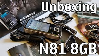 Nokia N81-1 8GB Maroon 5 Edition Unboxing 4K with all original accessories Nseries RM-179 review