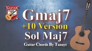 ★G Maj7 ★ How To Play G Maj7 Chord On Guitar | Sol Maj 7 Akoru Gitarda Nasıl Basılır ?