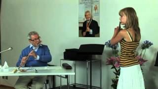 Sir James Galway Mini Master Class with Jessica Wilkes