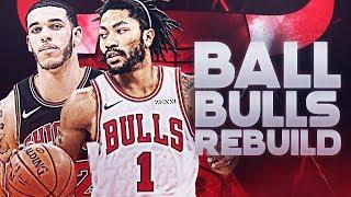 Lonzo Ball Traded! Derrick Rose Returns! Chicago Bulls Rebuild | NBA 2K19