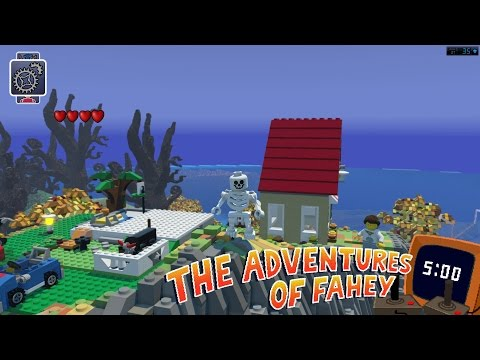 The First FiveJoyousMinutes Of LEGO's Minecraft