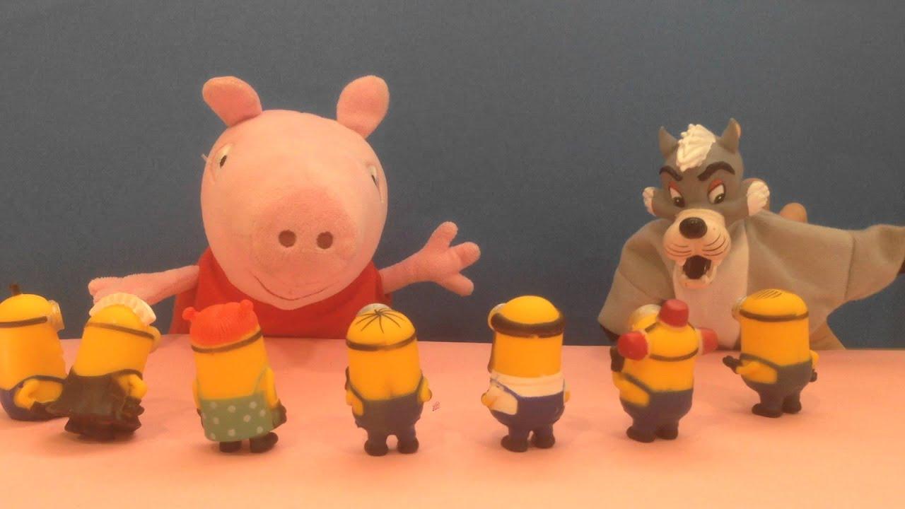 LOS TRES CERDITOS CONTADO POR PEPPA PIG