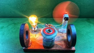 New idea for 2018 Free Energy Device with Magnet & DC Motor Signals Self Running Machine