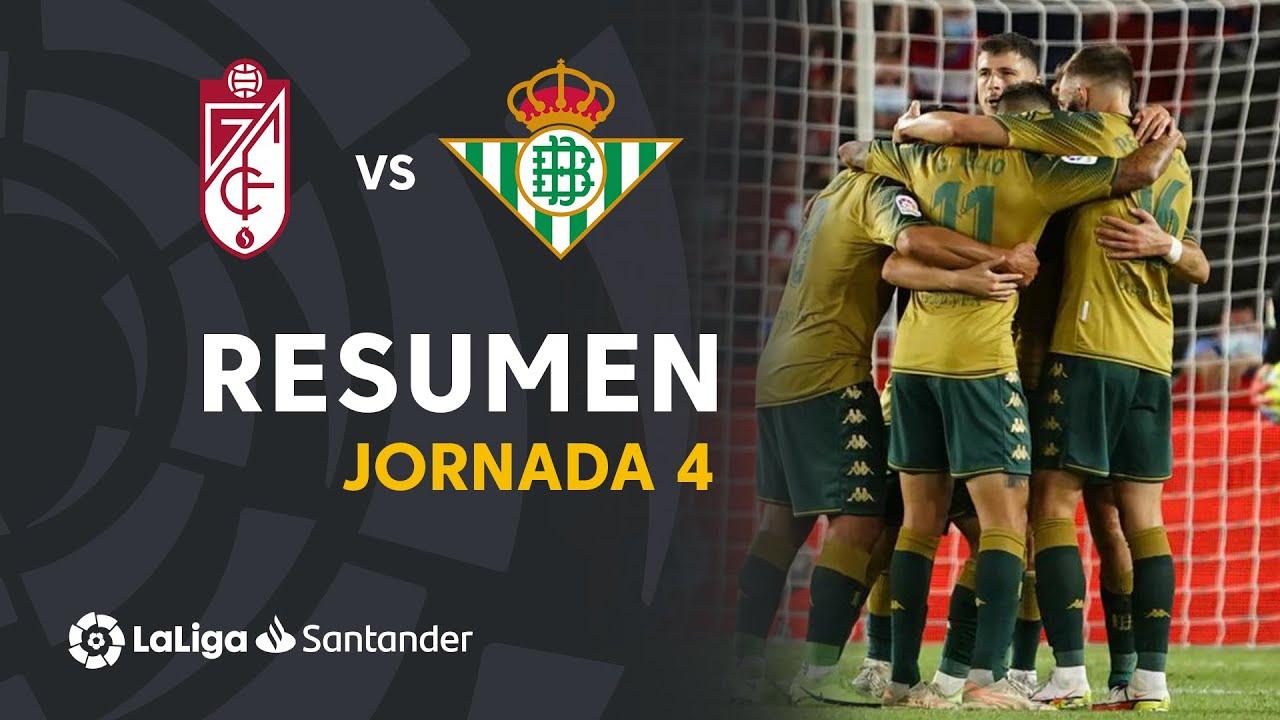 Resumen de Granada CF vs Real Betis (1-2)