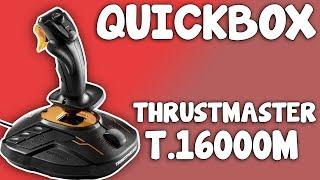 Thrustmaster T.16000M  -  QUICKBOX