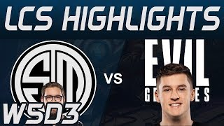 TSM vs EG Highlights LCS Spring 2020 W5D3 Team Solo Mid vs Evil Geniuses LCS Highlights 2020 by Oniv