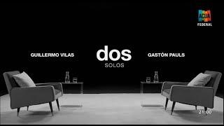 Dos Solos - Guillermo Vilas (entrevista Completa) ACUA Federal