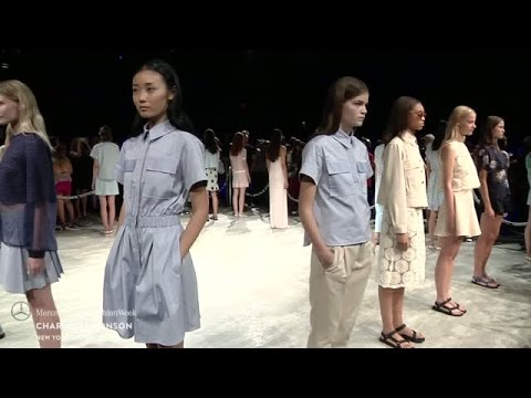 CHARLOTTE RONSON: MERCEDES-BENZ FASHION WEEK S/S15 COLLECTIONS