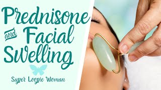 Prednisone Facial Swelling & Weight Gain Solution | Jade Rolling Lymphatic Massage