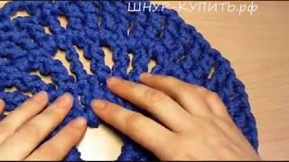 Вяжем вместе: секреты вязания ковриков из полиэфирного шнура