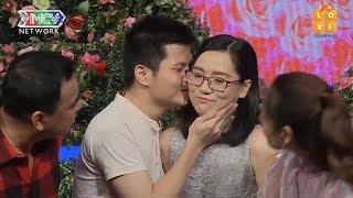 Cặp đôi trong trắng chưa từng yêu ai, hạnh phúc tột độ khi HÔN NHAU giữa sóng truyền hình| BMHH 😍