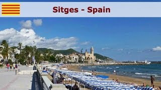 preview picture of video 'Sitges - Spain'
