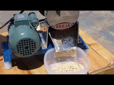 Pista, Badam Chips Cutter - Hand Operated / Power Driven