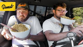 We Tested the Most Dangerous Foods to Eat While Driving