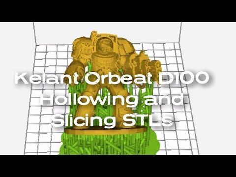 Removing supports for DLP Printers using ChituBox slicer - смотреть
