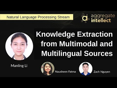 Knowledge Extraction from Multimodal and Multilingual Sources