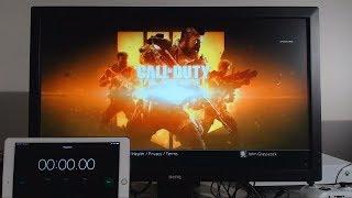 Downloading Black Ops 4 at 1000Mbps on PS4 (Gigabit Fiber Optics Internet)