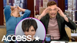 Watch Ryan Seacrest Hilariously Admit To Clogging Kris Jenner's Toilet