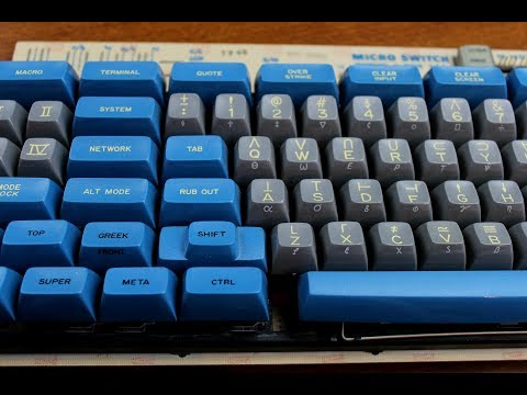 Symbolics Space Cadet keyboard review (Honeywell Hall effect 4B3E)