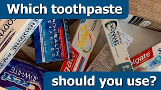 A Dentist's Guide to Toothpaste