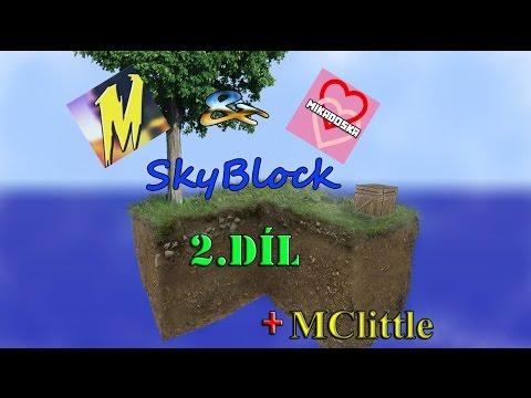 [SkyBlock] Miko&Laura LP Série /w MClittle 2.Díl /+15!!
