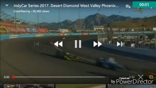 2017 Desert Diamond West Valley Phoenix Grand Prix: Lap 1 Big Crash