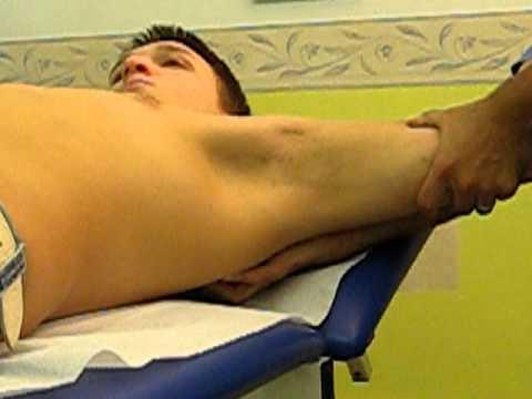 Fronte con osteocondrosi brucia