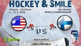 USA vs. Finland - Ice Hockey World Championschip 2015