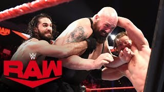 Buddy Murphy joins The Monday Night Messiah & AOP in their brutal Fist Fight against Big Show, Kevin Owens and Samoa Joe. Catch WWE action on WWE Network, FOX, USA Network, Sony India and more.  #RAW #WWEFistFight  GET YOUR 1st MONTH of WWE NETWORK for FREE: http://wwe.yt/wwenetwork --------------------------------------------------------------------- Follow WWE on YouTube for more exciting action! --------------------------------------------------------------------- Subscribe to WWE on YouTube: http://wwe.yt/ Check out WWE.com for news and updates: http://goo.gl/akf0J4 Watch WWE on Sony in India: http://www.sonypicturessportsnetwork.com/sports-details/18/wwe Find the latest Superstar gear at WWEShop: http://shop.wwe.com --------------------------------------------- Check out our other channels! --------------------------------------------- The Bella Twins: https://www.youtube.com/thebellatwins UpUpDownDown: https://www.youtube.com/upupdowndown WWEMusic: https://www.youtube.com/wwemusic Total Divas: https://www.youtube.com/wwetotaldivas ------------------------------------ WWE on Social Media ------------------------------------ Twitter: https://twitter.com/wwe Facebook: https://www.facebook.com/wwe Instagram: https://www.instagram.com/wwe/ Reddit: https://www.reddit.com/user/RealWWE Giphy: https://giphy.com/wwe ------------------------------------ WWE Podcasts ------------------------------------ After the Bell with Corey Graves: http://bit.ly/afterthebellpodcast The New Day: Feel the Power: https://link.chtbl.com/7Fp6uOqk